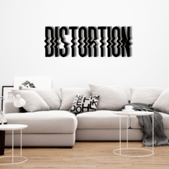 WALL ART MADERA - DISTORTION