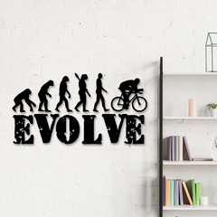 WALLART MADERA - EVOLVE BIKE
