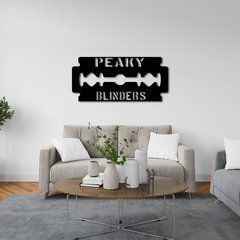 WALL ART MADERA - PEAKY BLINDERS