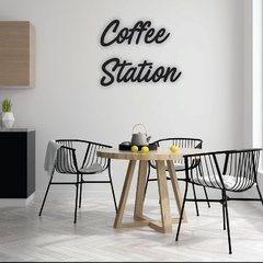 WALL ART MADERA - COFFEE STATION - comprar online