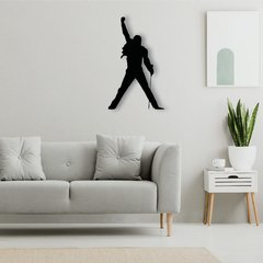 WALL ART MADERA - FREDDIE MERCURY