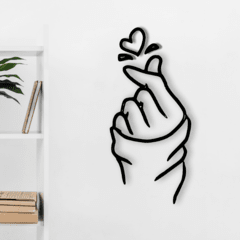 WALL ART MADERA - HANDLOVE