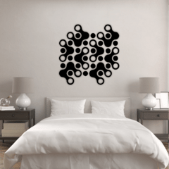 WALL ART MADERA - PUZZLE SPINNER