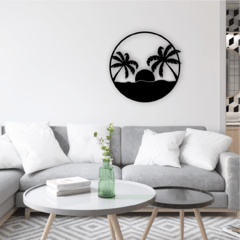 WALL ART MADERA - BEACH