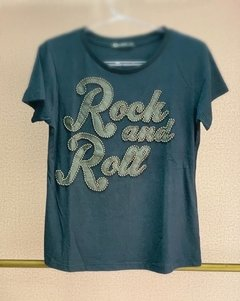 T-Shirt Rock and Roll - Pink Spice Bijoux