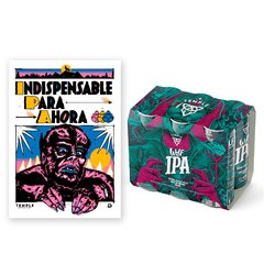 SIX PACK IPA + POSTER DE REGALO