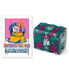 SIX PACK IPA + POSTER DE REGALO en internet