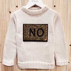 Tricot grosso Yes/No - Mini´s
