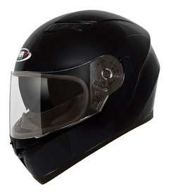 Casco Integral Moto Shiro Sh 600 Solid Gloss Black Yuhmak OUTLET