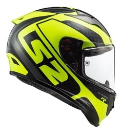 Imagen de Casco Moto Integral Ls2 323 Arrow C Sting Amarillo Yuhmak