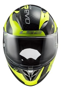 Casco Moto Integral Ls2 323 Arrow C Sting Amarillo Yuhmak - tienda online