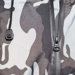 Campera Impermeable Camuflada Nine To One Mist Yuhmak - comprar online