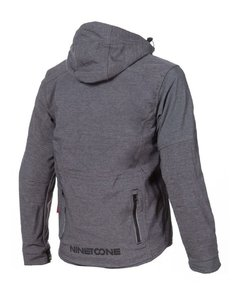 Campera Nine To One Softshell Dinamic gris C/ Protec Yuhmak - comprar online