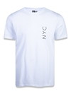 Camiseta New Era NYC Simple - Branca