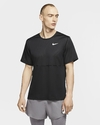 Camiseta Nike Breathe Run - Preto