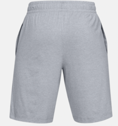Bermuda Under Armour Sportstyle Cotton - Cinza - comprar online