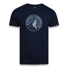 Camiseta New Era NBA Minnesota Timberwolves Basic Logo