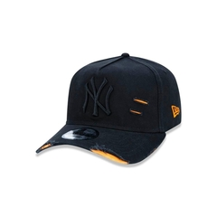 Boné New Era 9FORTY A-Frame Destroyed MLB New York Yankees - Preto
