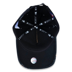 Boné New Era 9FORTY A-Frame Destroyed MLB New York Yankees - Preto - loja online