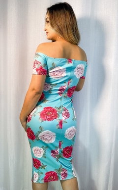 Vestido Midi Floral - Chris Evert