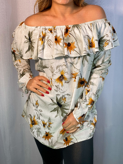 Blusa Ciganinha Flower - Chris Evert