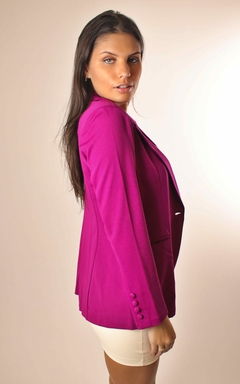 Blazer Alfaiataria Roxo - Chris Evert