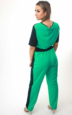 Conjunto Viscose Verde Claro - Chris Evert