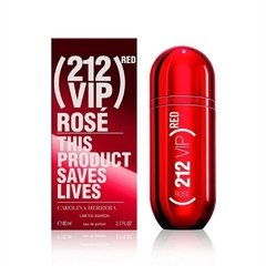 Carolina Herrera 212 Vip Rosé Red x 80 ml