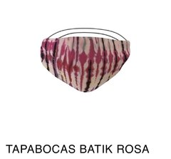 Tapabocas Batik House of Cholas