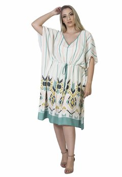 Kaftan Tribal curta