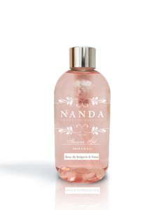 Shower Gel x 250ml - Rosa de Bulgaria & Fresa