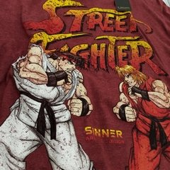 Remera Street fighter - comprar online