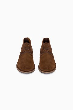 CACHI GAMUZA MARRON BROWN SUELA MARRON - comprar online