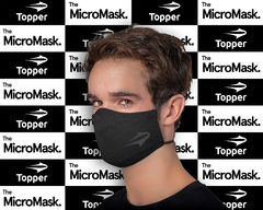 TOPPER BY MICRO MASK NEGRO PLENO en internet
