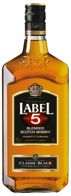 Whisky Label 5 Classic Black 750ml