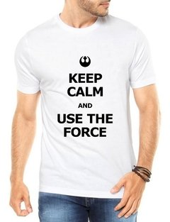 Camisa Use The Force Masculina Camiseta Blusa Star Wars - Anuncio Clothing