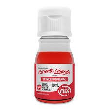 CORANTE MIX 10ML VERM MORANGO (MIX - 1251)