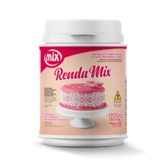 RENDA MIX MISTURA PARA GLACE FLEXIV 100G (MIX - 2710)