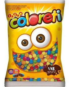 CONFEITO COLORETI JAZAM 1KG MINI  (JAZAM - 4417)
