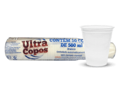 COPO ULTRA PS BCO. 500ML (ULTRA - 1426)