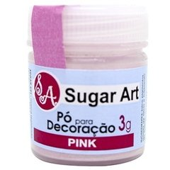 PO DECORAÇAO SUGAR ART PINK 3G (SUGAR ART - 5715)
