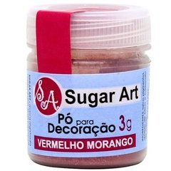 PO DEC SUGAR ART VERM MORANGO 3G (SUGAR ART - 6679)