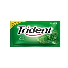 CHICLE TRIDENT MENTA 21X1 (TRIDENT - 9137)