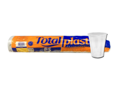 COPO TOTALPLAST TRANS. 150ML  (TOTALPLAST - 291)
