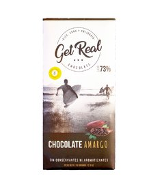 Chocolate Amargo 73% - GET REAL