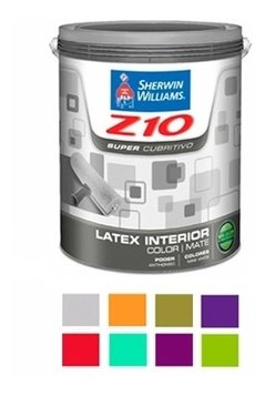 Latex Interior Z10 Colores X 1 Lt