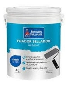 Fijador Sellador Al Agua Sherwin Williams X 4 Lts