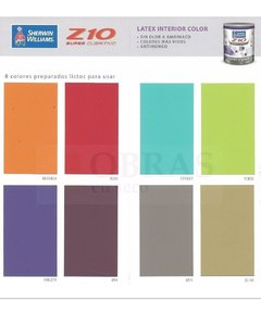 Latex Interior Z10 Colores X 1 Lt - comprar online