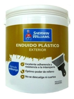 Enduido Exterior Sherwin Williams X 10 Lts