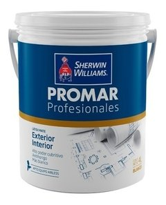 Látex Profesional Acrílico Sherwin Williams Blanco X 4 Lts